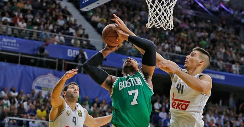 Real Madrid vs. Boston Celtics - World Tour 2015 (photo Real Madrid)