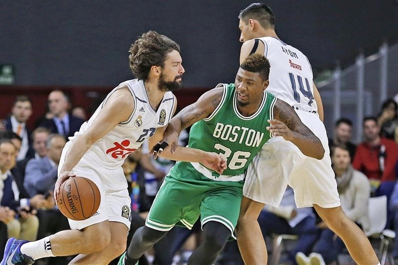 Sergio Llull - Real Madrid vs. Boston Celtics - World Tour 2015 (photo Real Madrid)