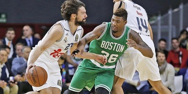 Boston Celtics beat Real Madrid in Global Games