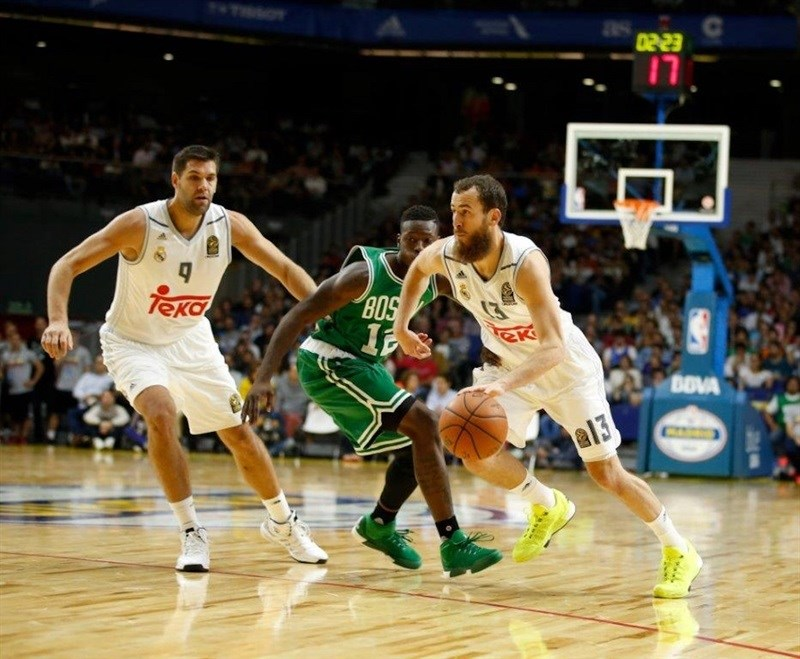Sergio Rodriguez - Real Madrid vs. Boston Celtics - NBA Global Games Milan - EB15 (photo NBA-Getty)