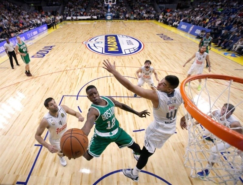 Terry Rozier - Real Madrid vs. Boston Celtics - NBA Global Games Madrid - EB15 (photo NBA-Getty)