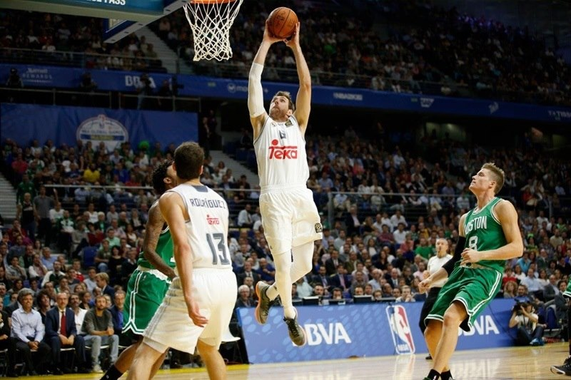 Andres Nocioni - Real Madrid vs. Boston Celtics - NBA Global Games Madrid - EB15 (photo NBA-Getty)