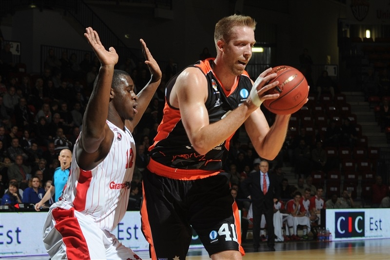 Justin Hamilton - Valencia Basket - EC15 (photo SLUC Nancy)