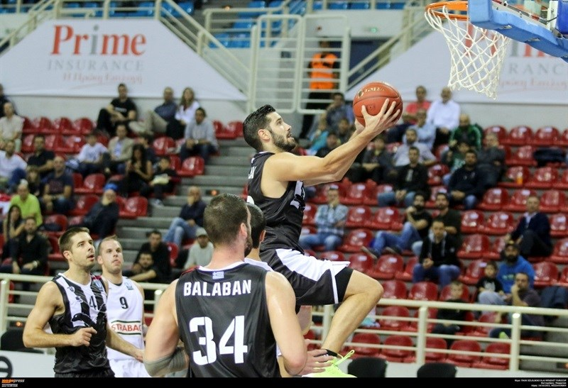 Uros Duvnjak - PAOK Thessaloniki - EC15 (photo PAOK)