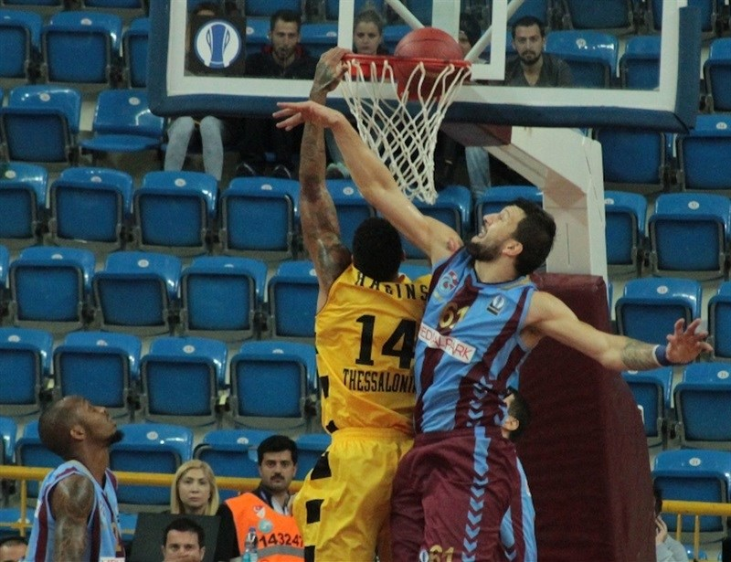 Jamelle Hagins - Aris Thessaloniki - EC15 (photo Trabzonspor)