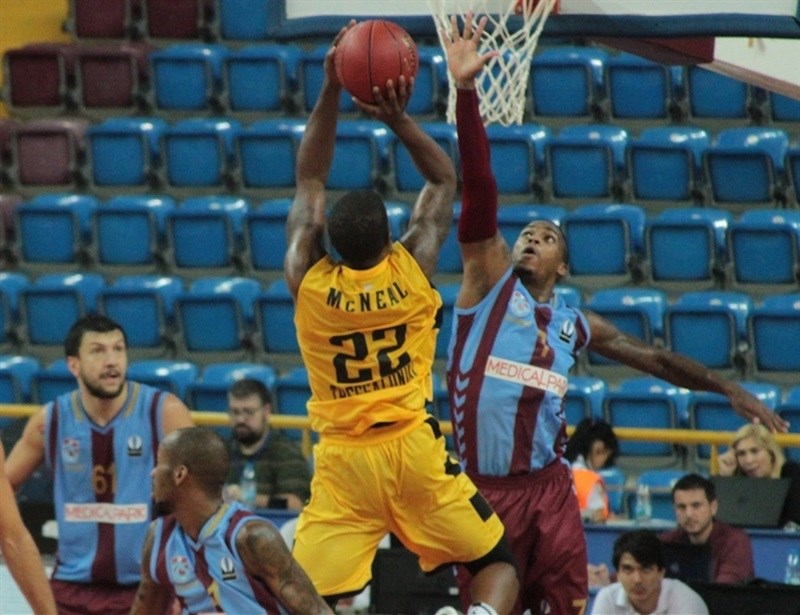 Jerel McNeal - Aris Thessaloniki - EC15 (photo Trabzonspor)