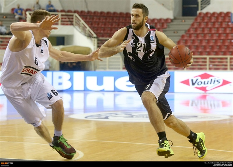 Nikola Markovic - PAOK Thessaloniki - EC15 (photo PAOK)