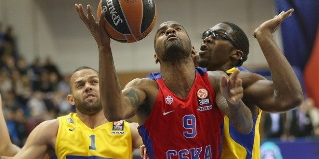 CSKA's Jackson out with broken facial bones