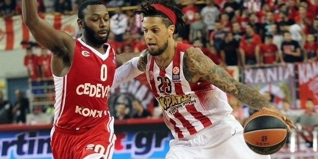 Regular Season, Round 1: Olympiacos Piraeus vs. Cedevita Zagreb