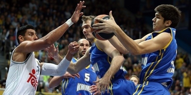 Regular Season, Round 1: Khimki Moscow Region vs. Real Madrid