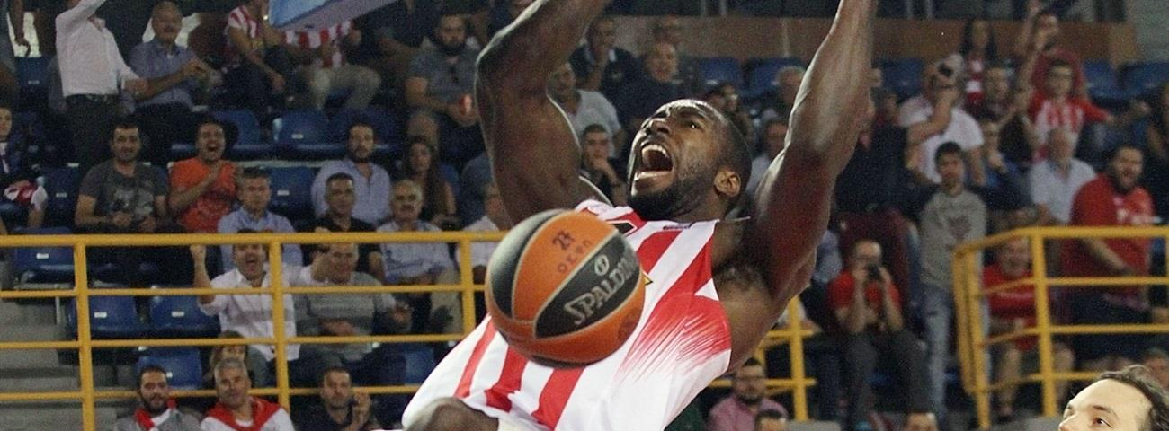 Regular Season Round 1 MVP: Patrick Young, Olympiacos Piraeus
