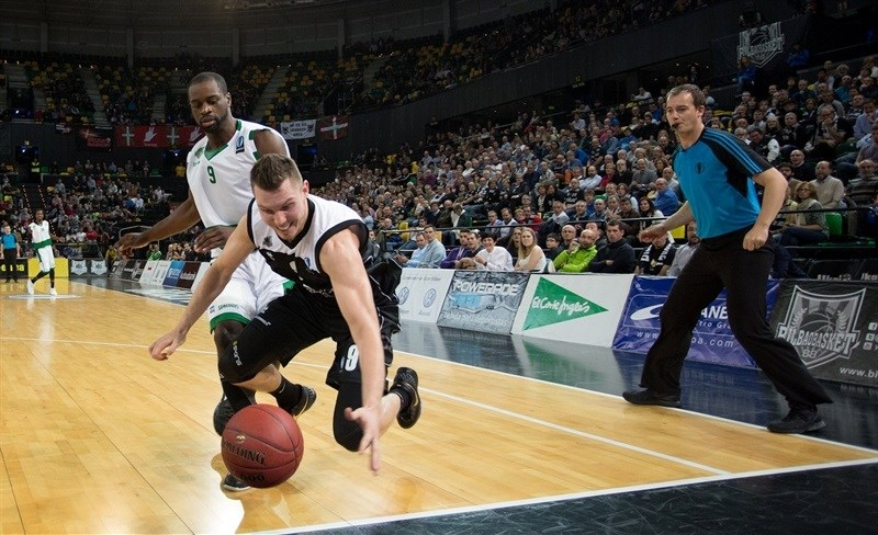 Dairis Bertans - Dominion Bilbao Basket - EC15 (photo Bilbao Basket)
