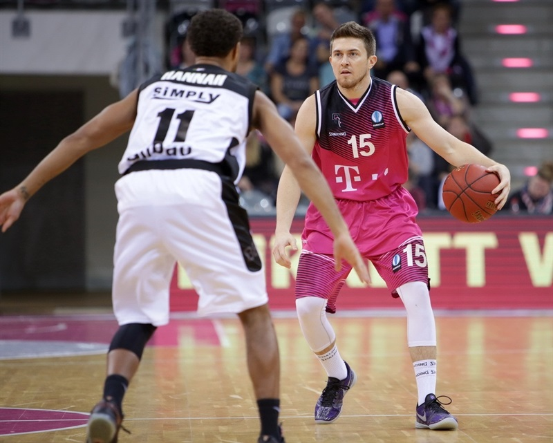 Rotnei Clarke - Telekom Baskets Bonn - EC 15 (photo Jörn Wolter - Telekom Baskets Bonn)