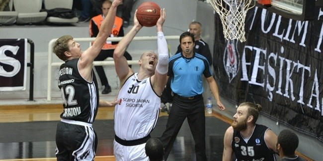 Regular Season, Round 2: Besiktas Sompo Japan Istanbul vs. Avtodor Saratov