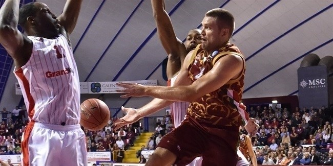 Regular Season, Round 2: Umana Reyer Venice vs. SLUC Nancy