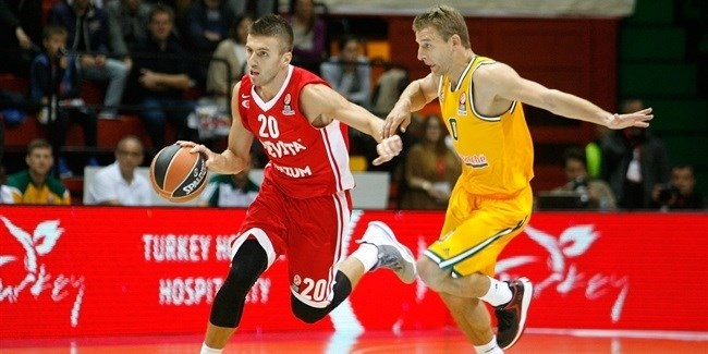 Regular Season, Round 2: Cedevita Zagreb vs. Limoges CSP