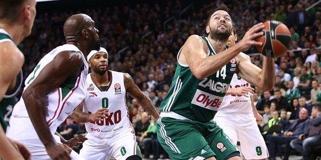 Regular Season, Round 2: Zalgiris Kaunas vs. Lokomotiv Kuban Krasnodar