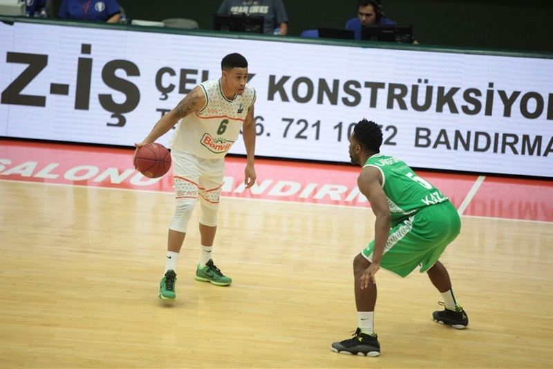 AJ Slaughter - Banvit Bandirma - EC15 (Photo Banvit)