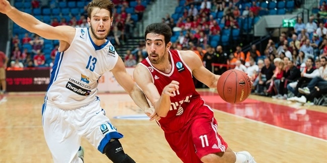 Regular Season, Round 2: Hapoel Bank Yahav Jerusalem vs. Neptunas Klaipeda