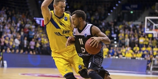 Regular Season, Round 3: EWE Baskets Oldenburg vs. Dominion Bilbao Basket
