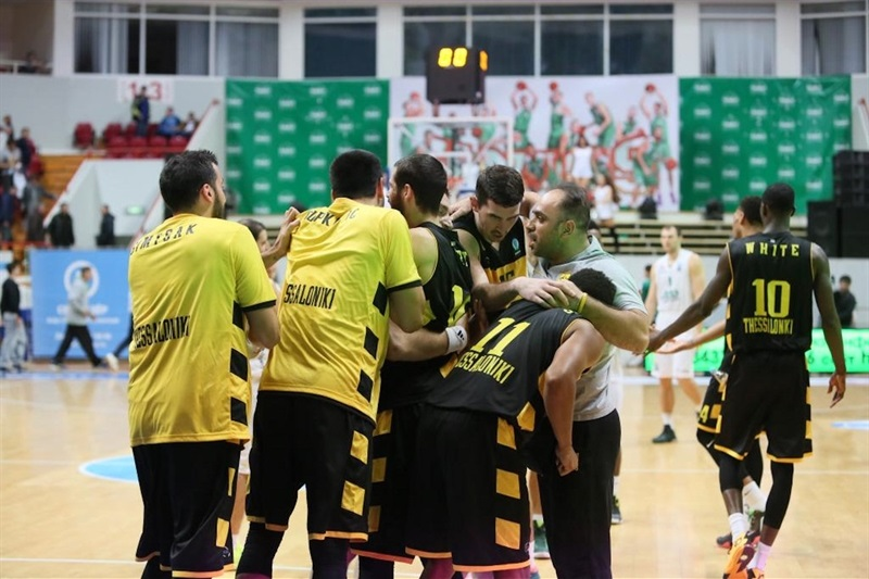 Aris Thessaloniki celebrates in Kazan - EC15 (photo Unics)