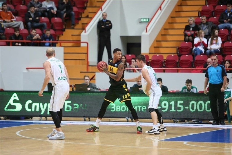 Jamelle Hagins - Aris Thessaloniki - EC15 (photo Unics)