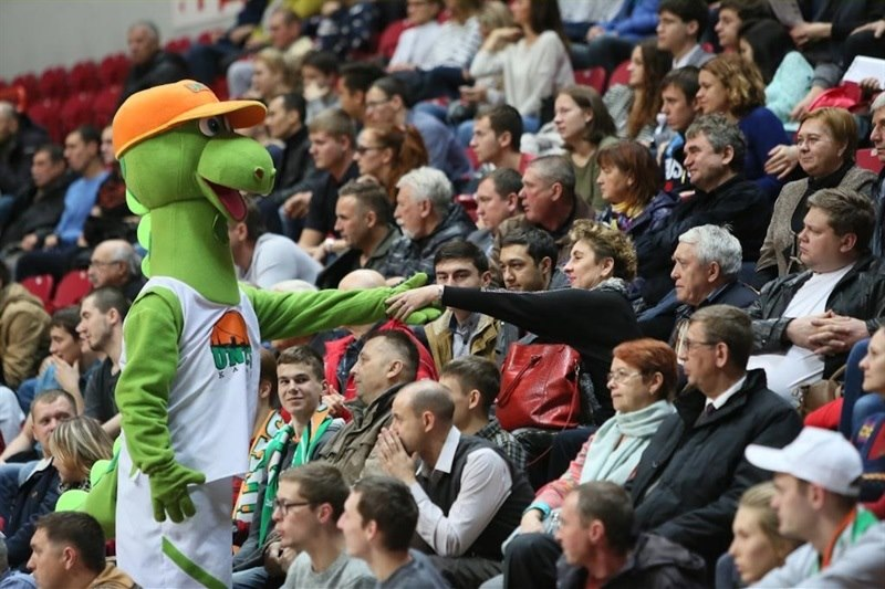 fans - Unics Kazan - EC15 (photo Unics)