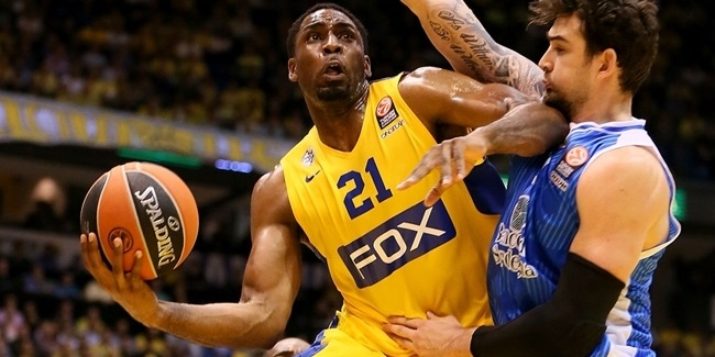Maccabi FOX big man Ofoegbu out 3-4 weeks