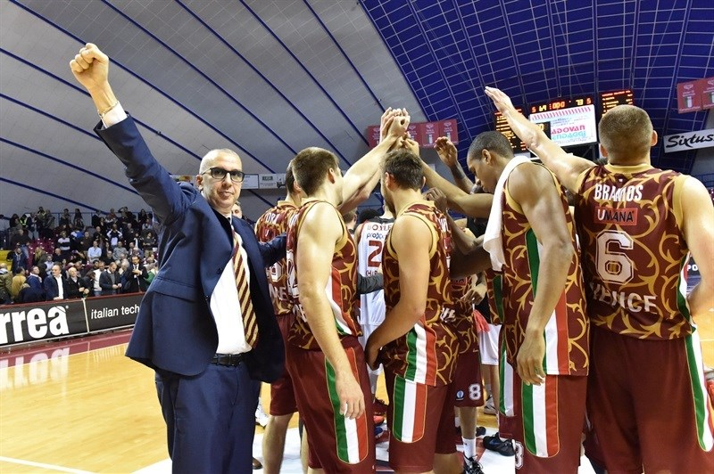 Umana Reyer Venice celebrates - EC15 (photo Reyer Venice)