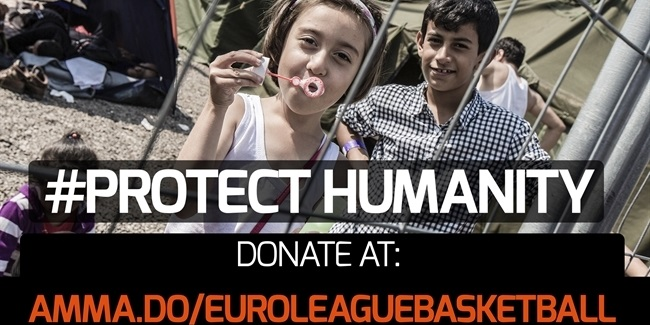Euroleague Basketball clubs join with Red Cross and Red Crescent to help vulnerable migrants