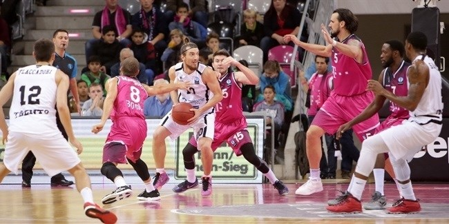 Regular Season, Round 4: Telekom Baskets Bonn vs. Dolomiti Energia Trento