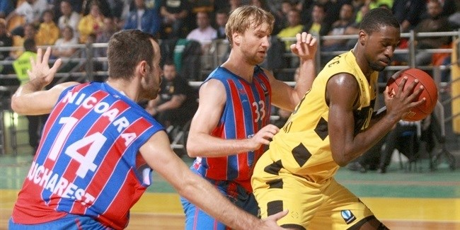 Regular Season, Round 4: Aris Thessaloniki vs. Steaua CSM EximBank Bucharest