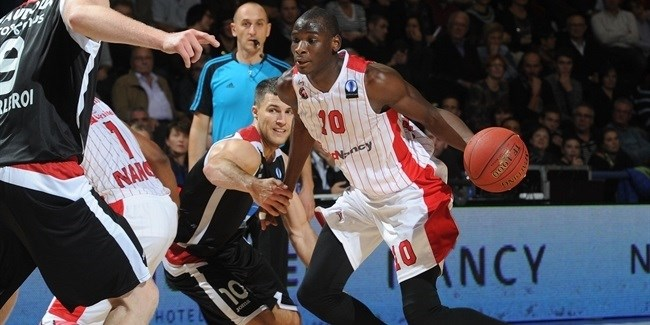 Regular Season, Round 4: SLUC Nancy vs. Proximus Spirou Charleroi