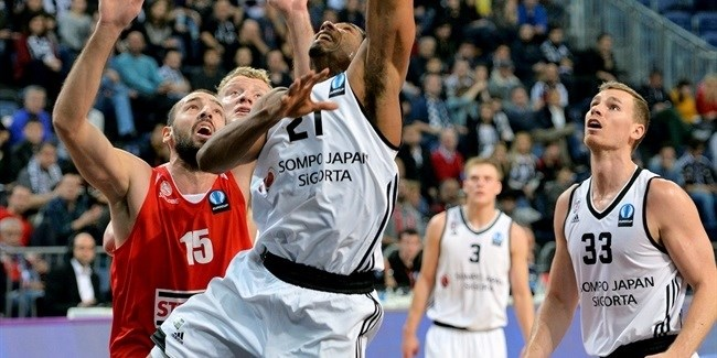 Regular Season, Round 4: Besiktas Sompo Japan Istanbul vs. Szolnoki Olaj