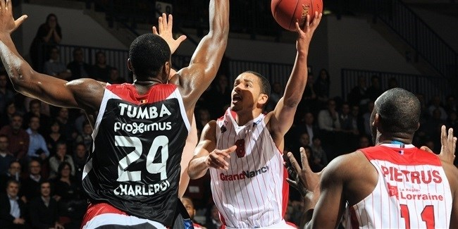 RS Round 9 report: SLUC Nancy ends Spirou's winning streak