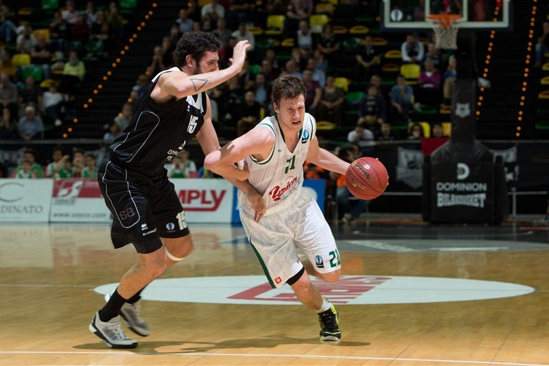 Blaz Mahkovic - Union Olimpija Ljubljana - EC15 (photo Bilbao Basket)
