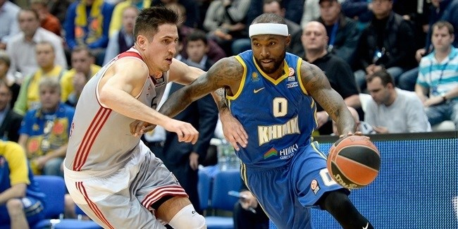 Regular Season, Round 4: Khimki Moscow Region vs. Strasbourg
