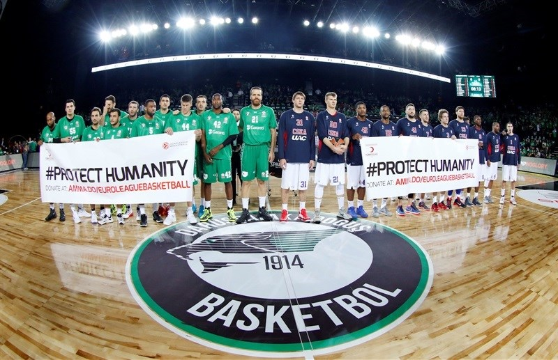 Protect Humanity - Darussafaka Dogus Istanbul vs. CSKA Moscow - EB15