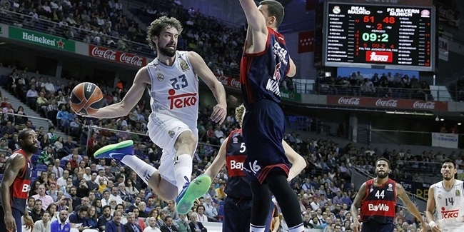 RS Round 4 report: Carroll's three-pointer lifts Real Madrid over Bayern