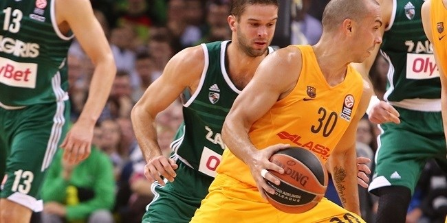 Regular Season, Round 4: Zalgiris Kaunas vs. FC Barcelona Lassa
