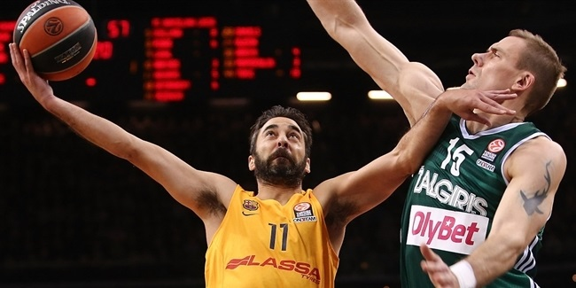 RS Round 4 report: Barcelona downs Zalgiris, stays perfect in Kaunas
