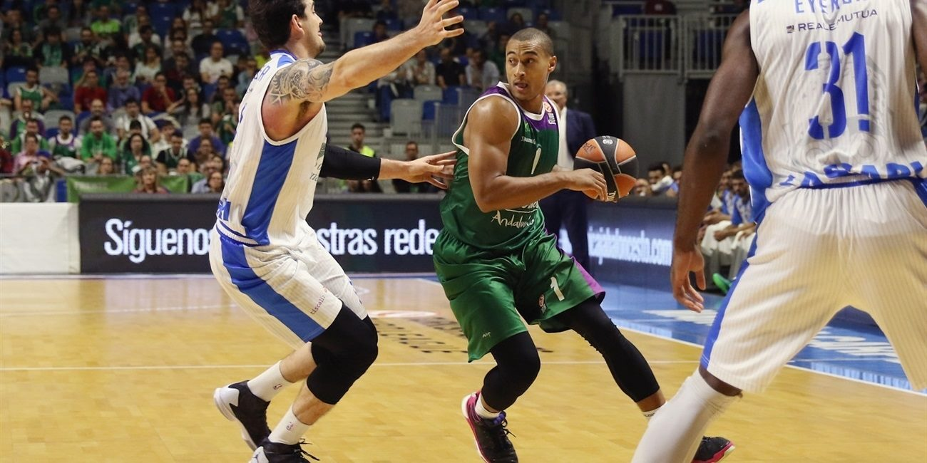 RS Round 4 report: Unicaja uses 24-0 run to pull away and remain undefeated