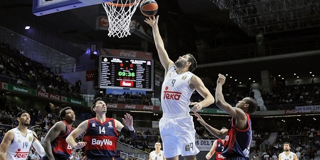 Regular Season, Round 4 MVP: Felipe Reyes, Real Madrid