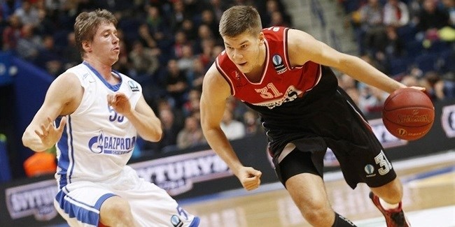 Regular Season, Round 4: Lietuvos Rytas vs. Zenit St. Petersburg