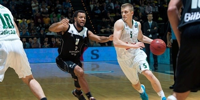 Regular Season, Round 4: Dominion Bilbao Basket vs. Union Olimpija Ljbljana