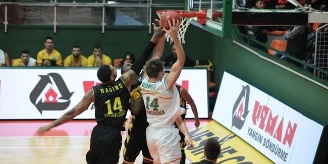 Regular Season, Round 5: Banvit Bandirma vs. Aris Thessaloniki