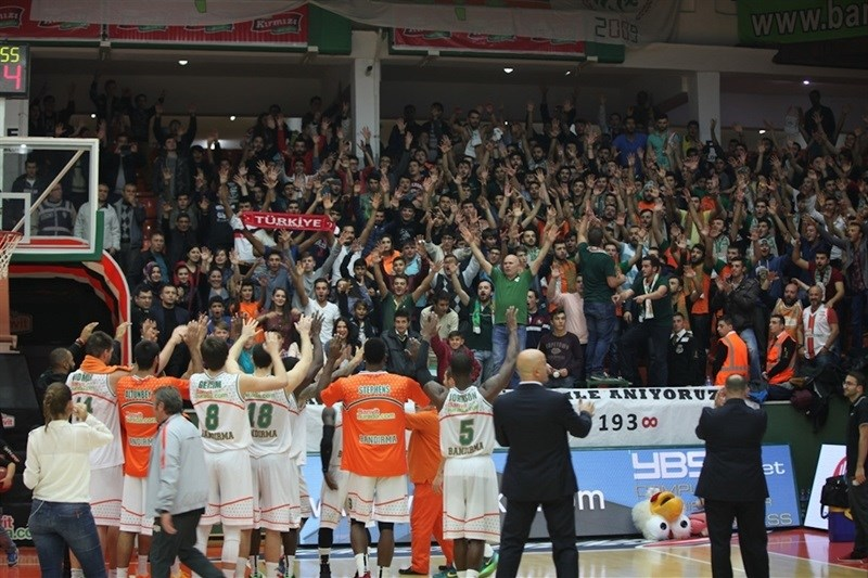 Banvit Bandirma celebrates - EC15 (photo Banvit)