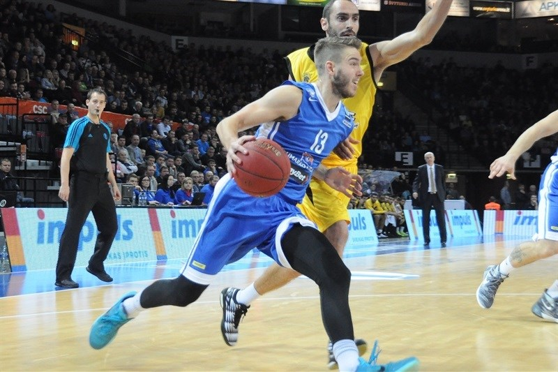 Travis Bader - Neptunas Klaipeda - EC15 (photo Neptunas)