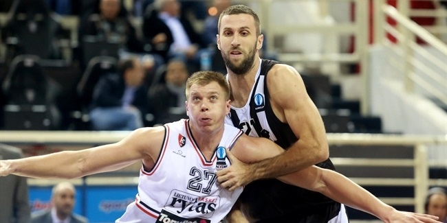 Regular Season, Round 5: PAOK Thessaloniki vs. Lietuvos Rytas