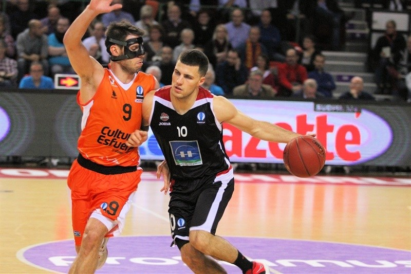 Billy Baron - Proximus Spirou Charleroi - EC15 (Photo Spirou Charleroi)